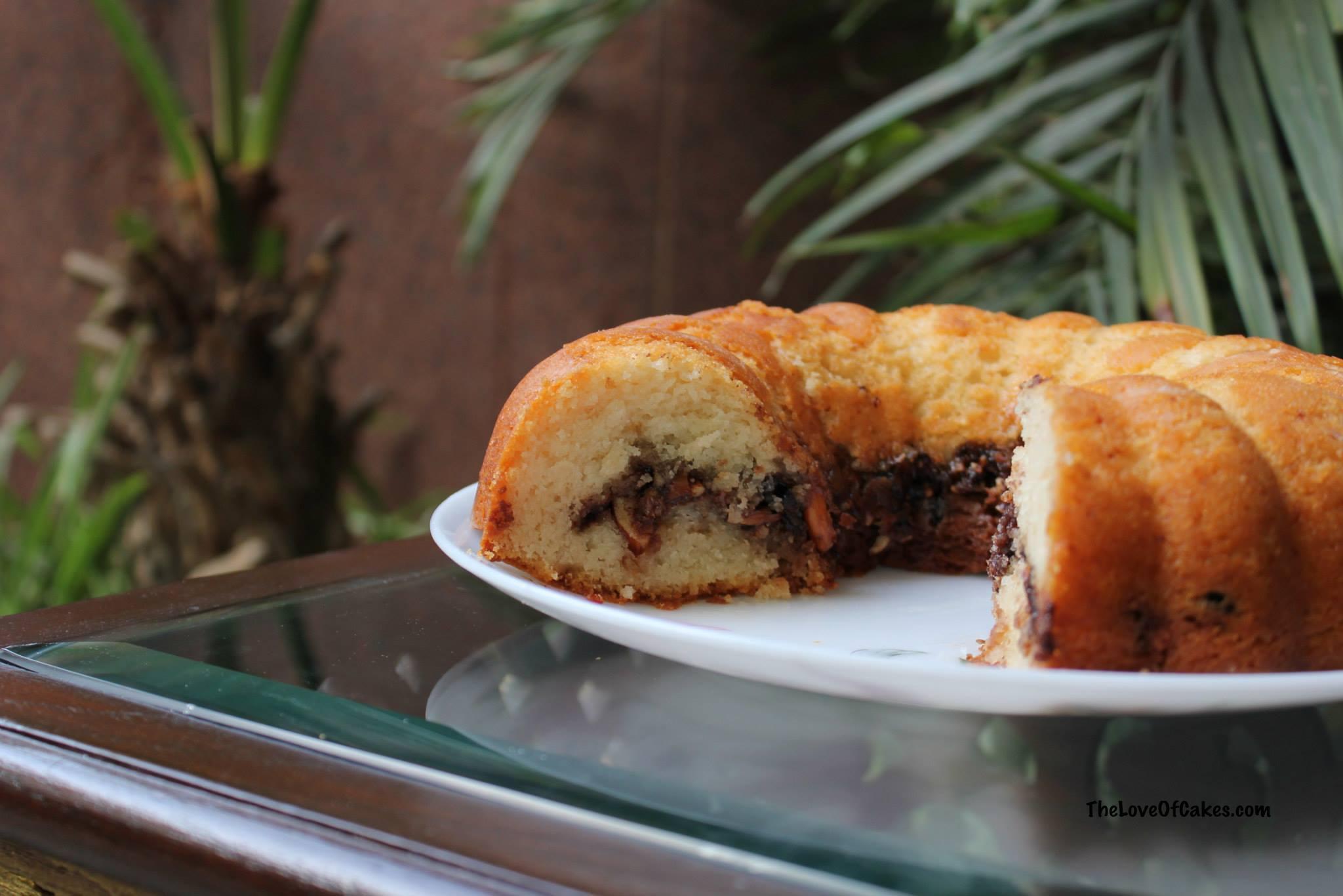Coffee Streusel Cake