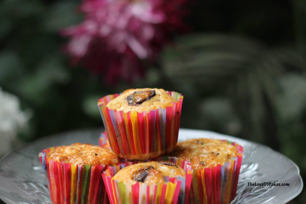Orange Dark Chocolate Muffins