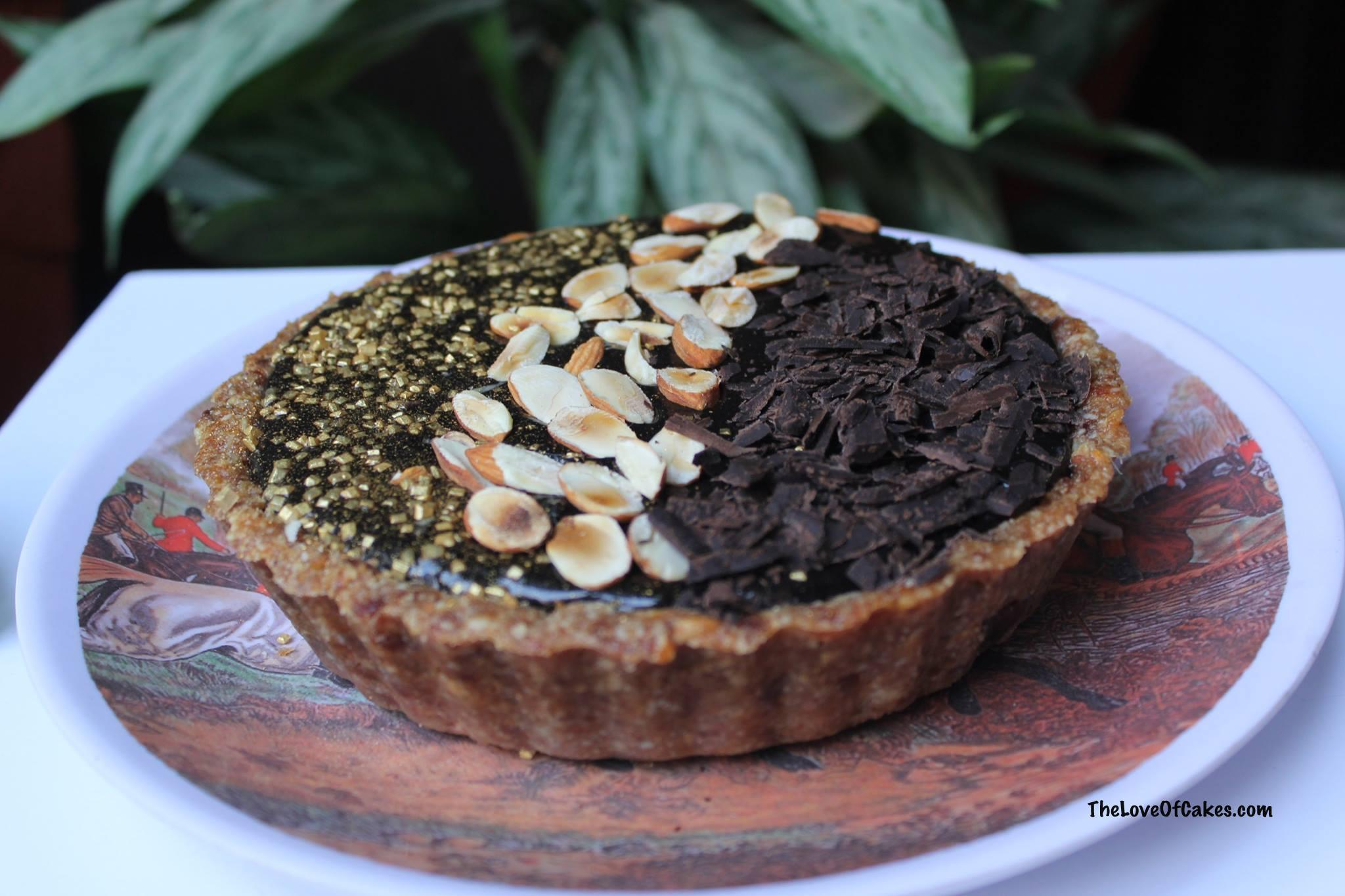 Guilt-free Chocolate Tart