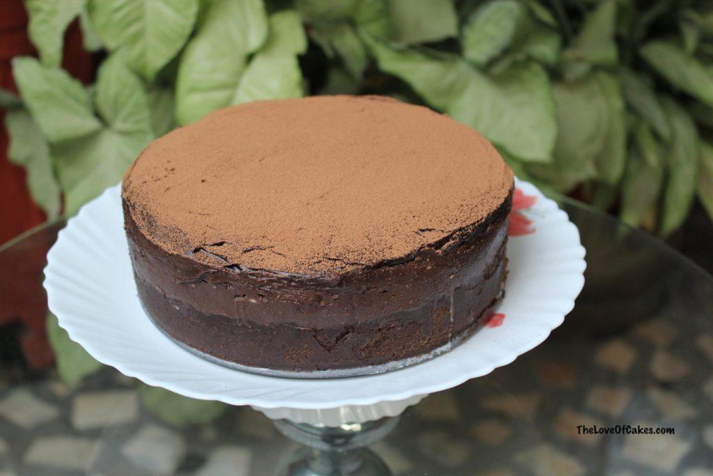No Bake Nutella Cheesecake