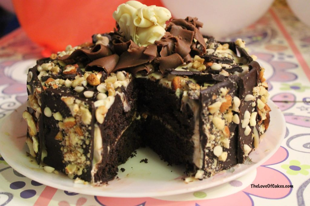 Chocolate Cake with Bailey's Frosting