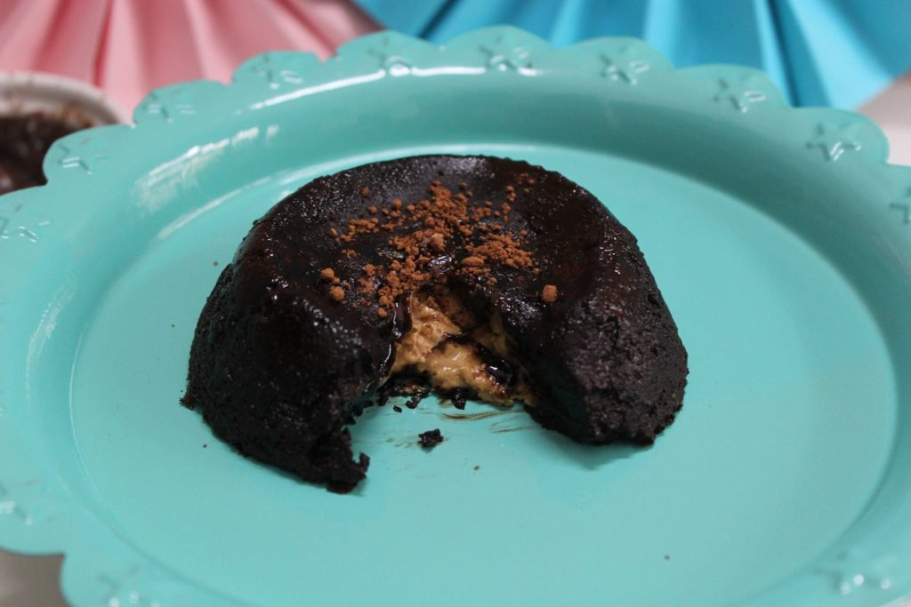 Chocolate Lava Cake Recipe Joy Of Baking: Chocolate Lava Cake With Peanut Butter
