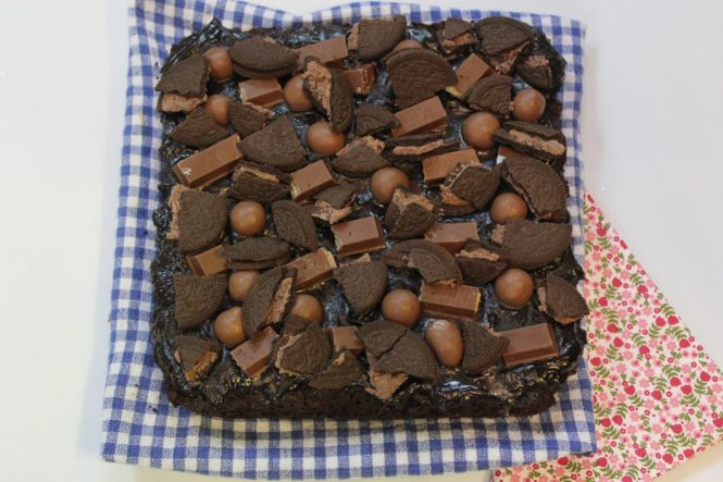 Kit Kat Overload Brownies