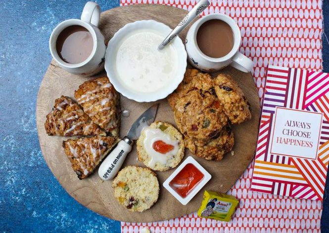 Easy Fruit Scones