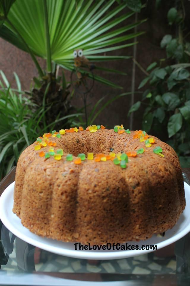 Tutti Fruity Cake