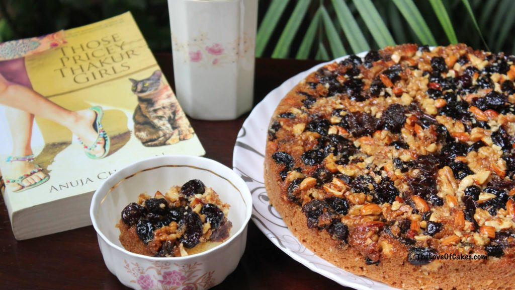 Fruit and Nut Upside Down Cake