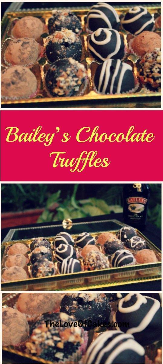 baileys chocolate truffles