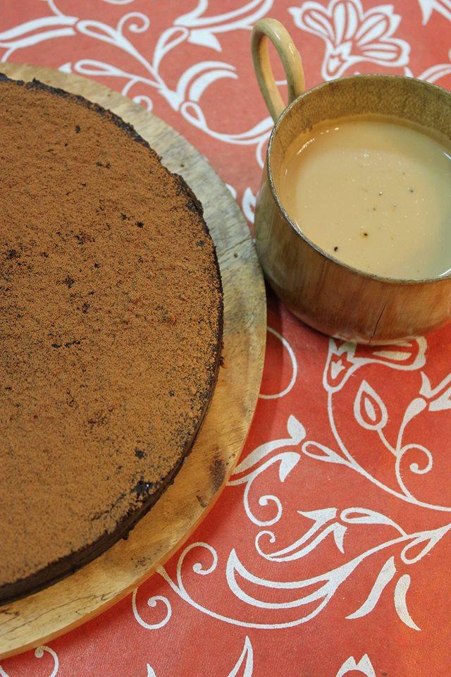 chocolate espresso mousse cake