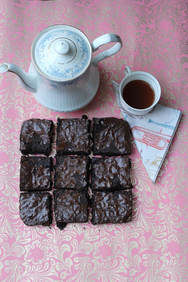 Chocolate Brownies With Chai Spices