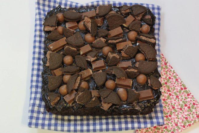 Kit Kat Overload Brownies
