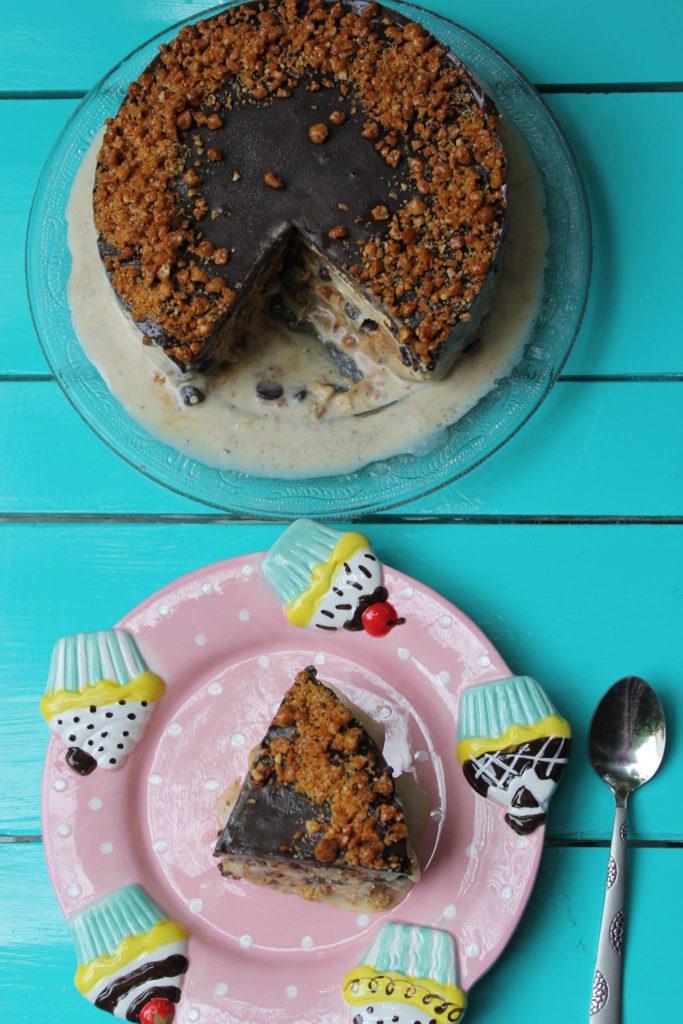Butterscotch Ice-Cream Cake